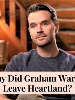 Why did Graham Wardle leave Heartland? Ty Borden's death and Amber Marshall's reaction