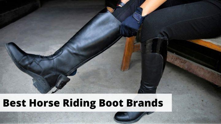 Best Horse Riding Boot Brands