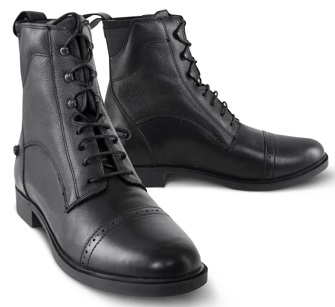 Tredstep Giotto II Front Lace Paddock Boots Black