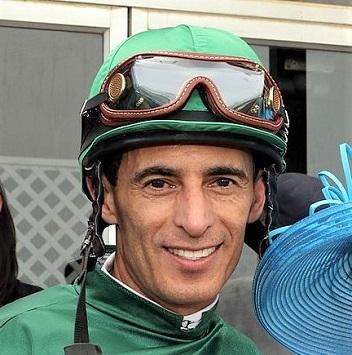 John Velazquez, famous jockey portrait photo