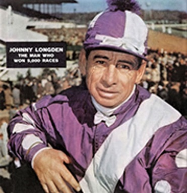 Johnny Longden on the front cover of Sports Illustrated magazine