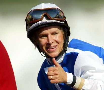 Julie Krone famous female horse jockey