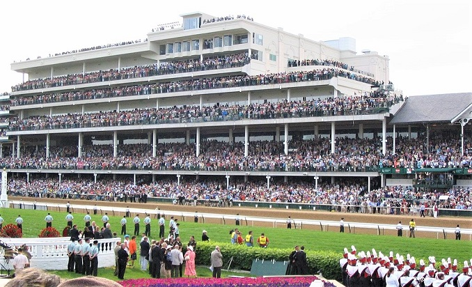 Churchill Downs crowd for the 2006 Kentucky Derby