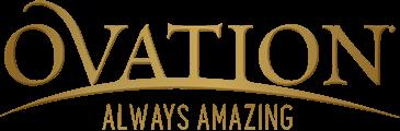 Ovation horse brand logo