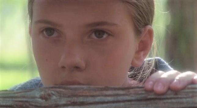 Scarlett Johansson in The Horse Whisperer movie