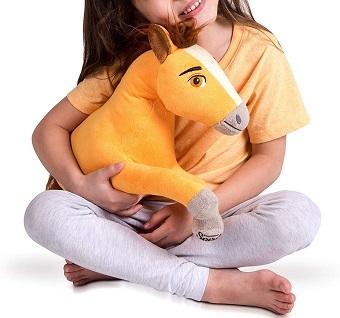 Plush Spirit Untamed cuddle pillow for kids