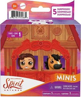 Spirit Untamed minis set for kids