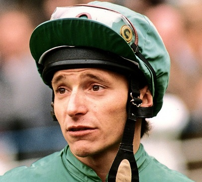 Jockey Steve Cauthen who rode Affirmed to Triple Crown victory