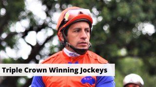 List of Triple Crown winning jockeys