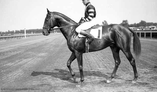 War Admiral race horse and his jockey