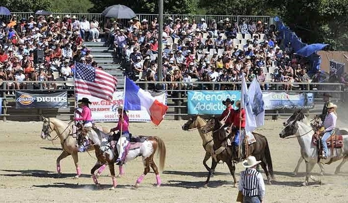 EquiBlues rodeo festival in France