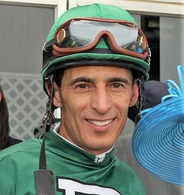 John R. Velazquez, the highest paid jockey in the world