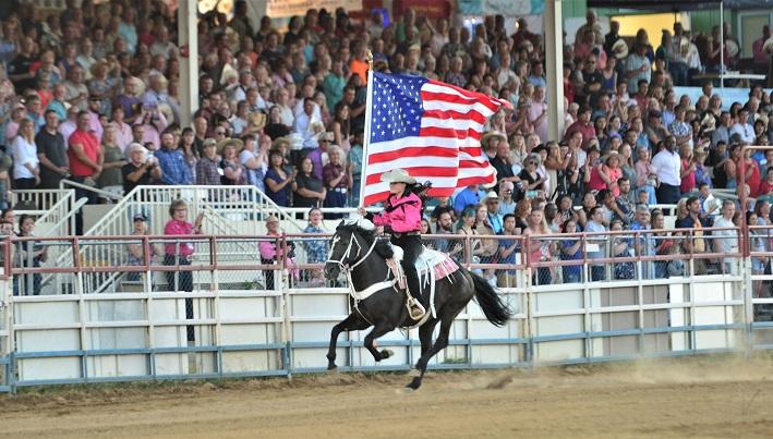 Prescott Frontier Days rodeo in Arizona