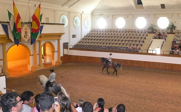 Arena at theRoyal Andalusian School of Equestrian Art