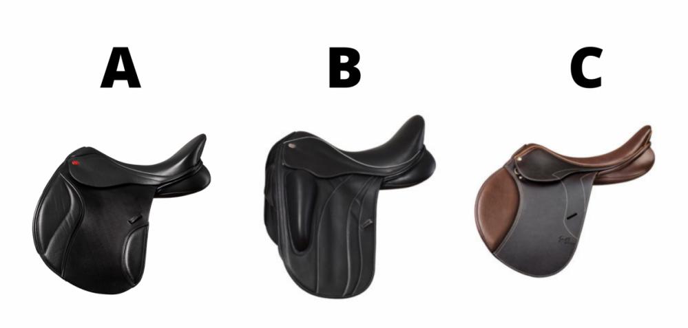 Dressage saddle quiz question