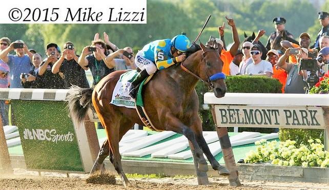 American Pharoah triple crown winner horse