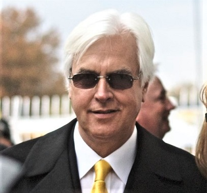 Bob Baffert. horse trainer profile photo