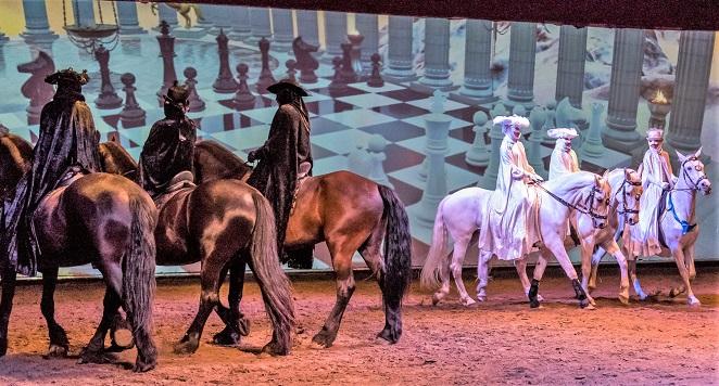 Cavaland equestrian amusement park located in Quebec, Canada