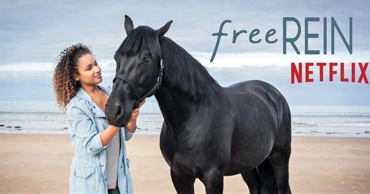 Jaylen Barron and Raven from Free Rein
