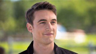 Actor Jordan Burtchett who plays Quinn McGregor in Heartland