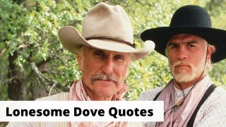Lonesome Dove Quotes list