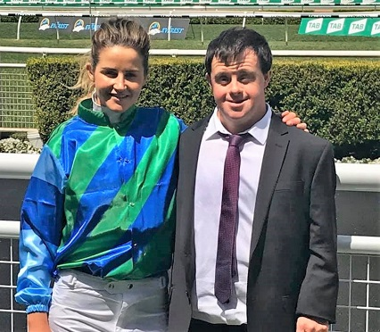 Michelle Payne and her brother Stevie Payne