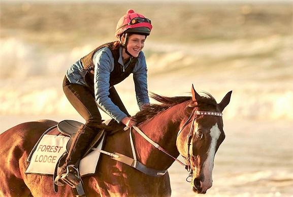 Ride Like a Girl horse riding movie scene