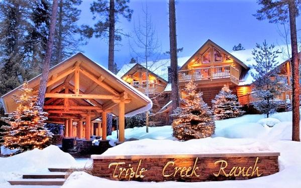 Triple Creek Ranch in Montana