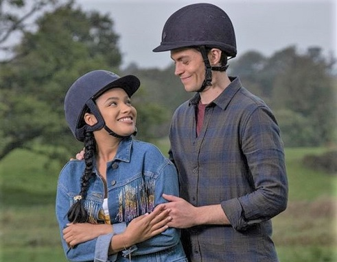 Zoe and Pin on Free Rein