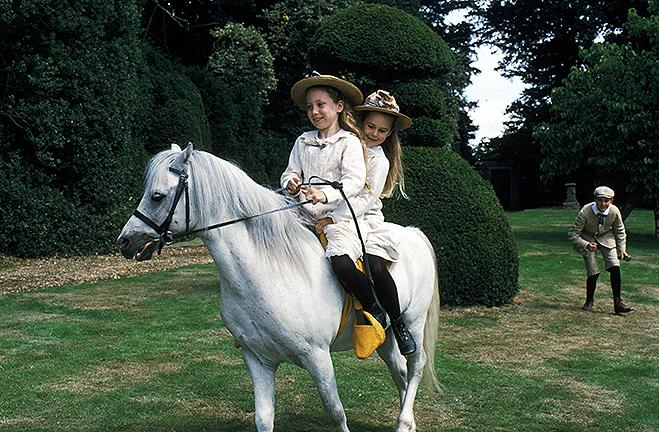 White pony from the Black Beauty movie