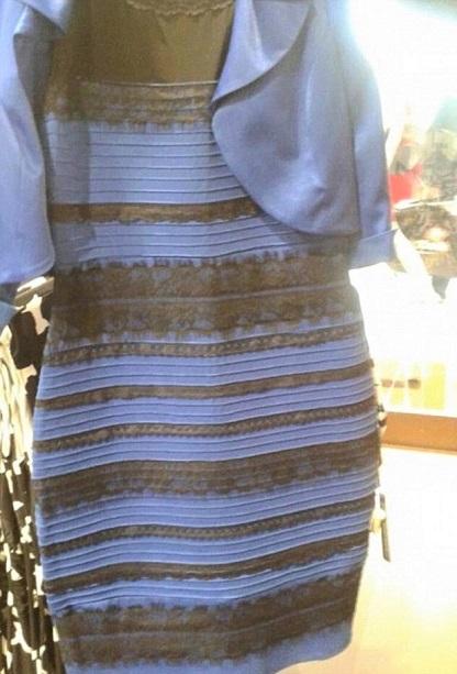 Viral optical illusion dress